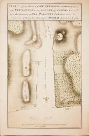 New London Ct Map Disastrous Leadership Lt Colonel Joseph Harris At The Battle Of