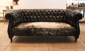 chesterfield sofa for sale swedish black leather chesterfield sofa circa 1930 at 1stdibs sit