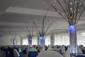 wedding decoration winter wonderland dining room design for