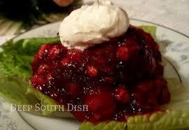south dish fashioned cherry coke salad