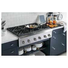 Ge Downdraft Gas Cooktop Kitchen Excellent Ge Profile 6 Burner Gas Stove Cafe 36 In Cooktop