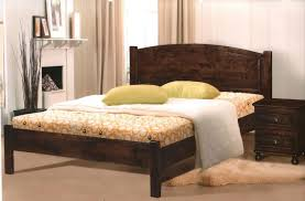 solid wood double bed frame timber double bed king size bedroom