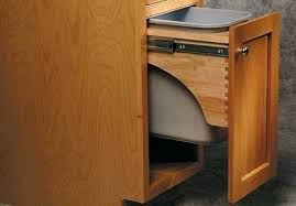 garbage can under the sink under the sink trash can l commercial grade pull out trash can under
