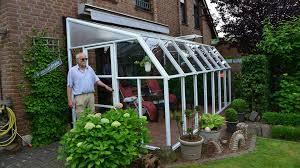 Palram Lean To Greenhouse Rion Sun Room 8 U0027 Outdoor Solarium Enclosure Youtube