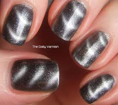 sally hansen magnetic nail color silver elements the daily varnish