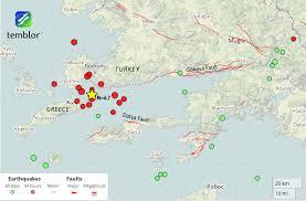 Mta Map Bodrum Quake Map U2013 Temblor Net