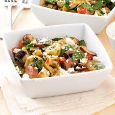 mediterranean tortellini salad recipe taste of home