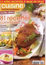 magasine de cuisine magazine cuisine recettes pratiques
