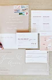 destination wedding invitations aaron s modern destination wedding invitations