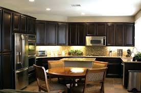stains for kitchen cabinets staining kitchen cabinets espresso thelodge club