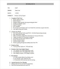 weekly status report template weekly status report template 12