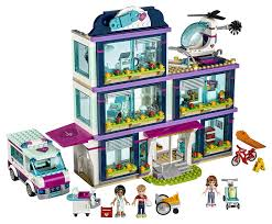 K Heneinrichtung G Stig Lego Friends 41318 Heartlake Krankenhaus Amazon De Spielzeug