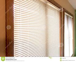 mini blinds 2 wood window frames stock photo image 51800100