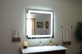 wall mounted magnifying mirror with light wall mounted makeup mirror lighted hpianco com
