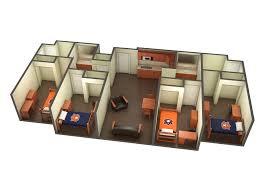 Sorority House Floor Plans The Village Communities Housing And Residence Life Auburn
