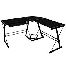 Metal And Glass Computer Desk Best 25 Glass Corner Desk Ideas On Pinterest Modern Corner Desk