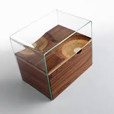 comodini e ã moderni table de chevet bifronte transparent horm