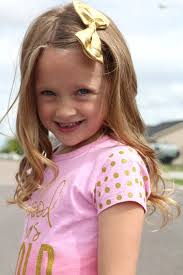 polka dot hair heat transfer vinyl shirt with gold glitter polka dots a girl