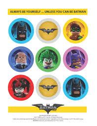 ad lego batman movie free printable create straw