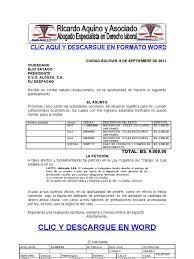 calculo referencial de prestaciones sociales en venezuela formato modelo ejemplo solicitud de adelanto de prestaciones