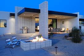 patio block design ideas bathroom contemporary with bench in