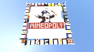 Monopoly Map 1 7 1 8 Monopoly In Minecraft Mineopoly 100 Full Automatic