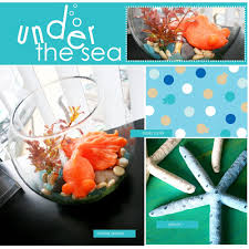 Under The Sea Centerpieces by Party Theme Under The Sea J Kaden Art