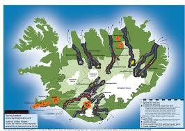 Iceland Map World Saving Iceland Resources