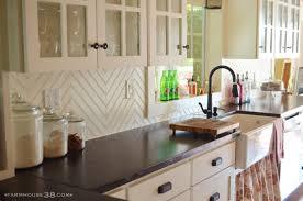 Kitchen Backsplash Tiles Toronto Herringbone Pattern Backsplash Tile Great Home Decor Herringbone