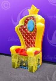King Chair Rental King U0027s Chair Carolan Rental Inflatables And Event Rental