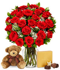 dozen of roses two dozen roses with godiva chocolates at from you flowers