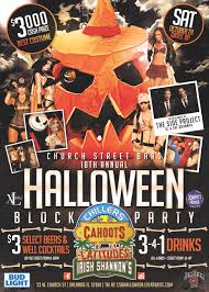 halloween party in orlando church st bars 18th annual halloween block party tickets sat