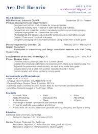 Resume Style Guide 3d Character Animator Resume Format Eliolera Com