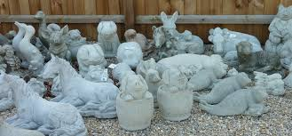 cast in garden ornaments