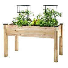Elevated Garden Boxes Plans Elevated Container Garden Planters