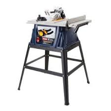Rockwell 10 Table Saw Rockwell 13 Amp 10 In Table Saw With Leg Stand Rk7240 1 The