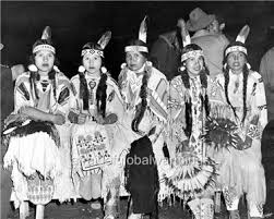 old photo pacific nw 5 native american indian women in