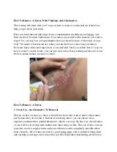 remove tattoo at home with simple and easy homemade methods