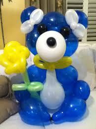 balloons and teddy bears 111th balloon sculpture large teddy large teddy and