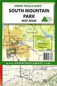 Phoenix Mountain Preserve Map by Amazon Com South Mountain Park Hiking Mountain Biking