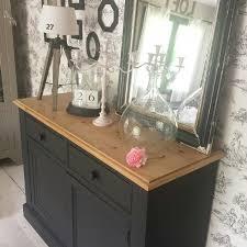 bureau repeint meuble repeint en noir mat espritdefannie noir