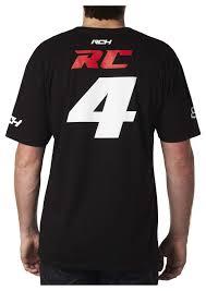 fox honda motocross gear fox racing rch rc fanwear t shirt revzilla
