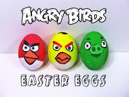 angry bird easter eggs 7 steps pictures