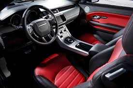 land rover autobiography red interior 2017 land rover range rover evoque reviews and rating motor trend