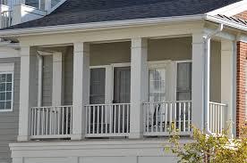 emejing exterior wood columns contemporary interior design ideas