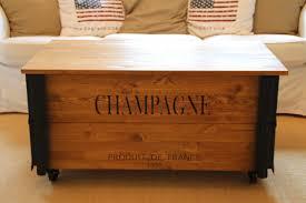 Wohnzimmertisch Shabby Couchtisch Truhe Xl Champagne Uncle Joe S