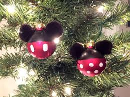 diy mickey and minnie ornaments this tale
