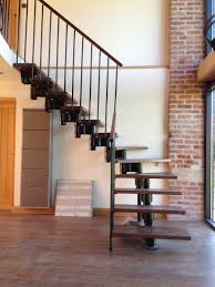 floating u0027 oak and glass staircase
