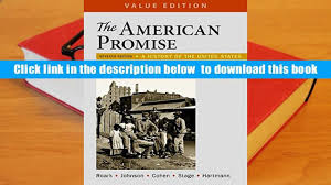 audiobook the american promise value edition volume 1 a history