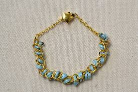 make gold chain bracelet images Bracelet making for beginners on how to make easy thread bracelets jpg